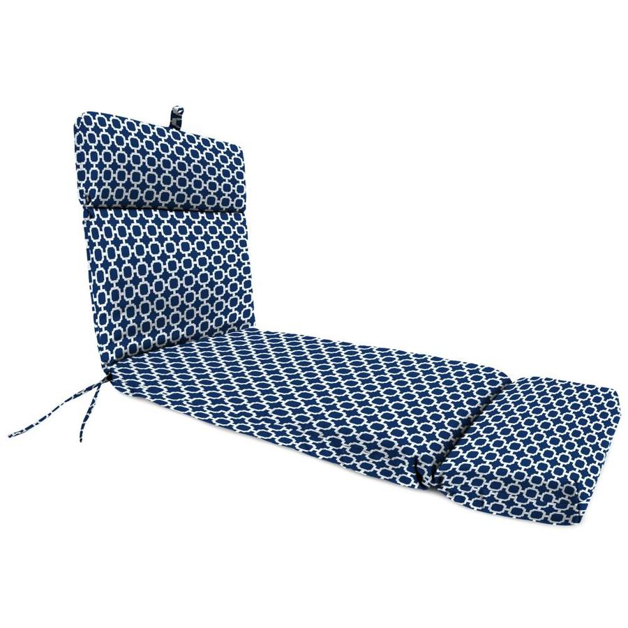 Jordan Manufacturing Hockley Navy Geometric Cushion For Chaise Lounge