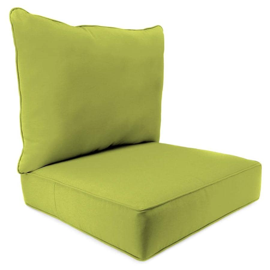 Jordan Manufacturing Fresco Pear Solid Cushion For Deep Seat Chair