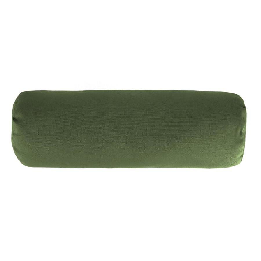 Sunbrella Outdoor Decorative Pillows : Shop Sunbrella Canvas Fern and Solid Rectangular Bolster Pillow Outdoor Decorative Pillow at ...