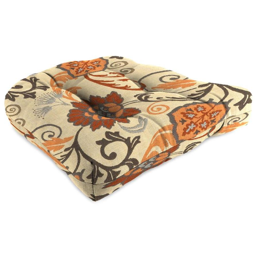 Sunbrella 1-Piece Elegance Marble Standard Patio Chair Cushion