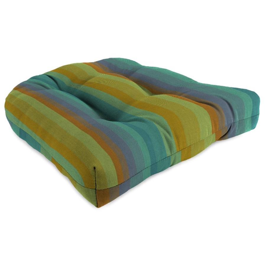 Sunbrella Astoria Lagoon Stripe Standard Patio Chair Cushion