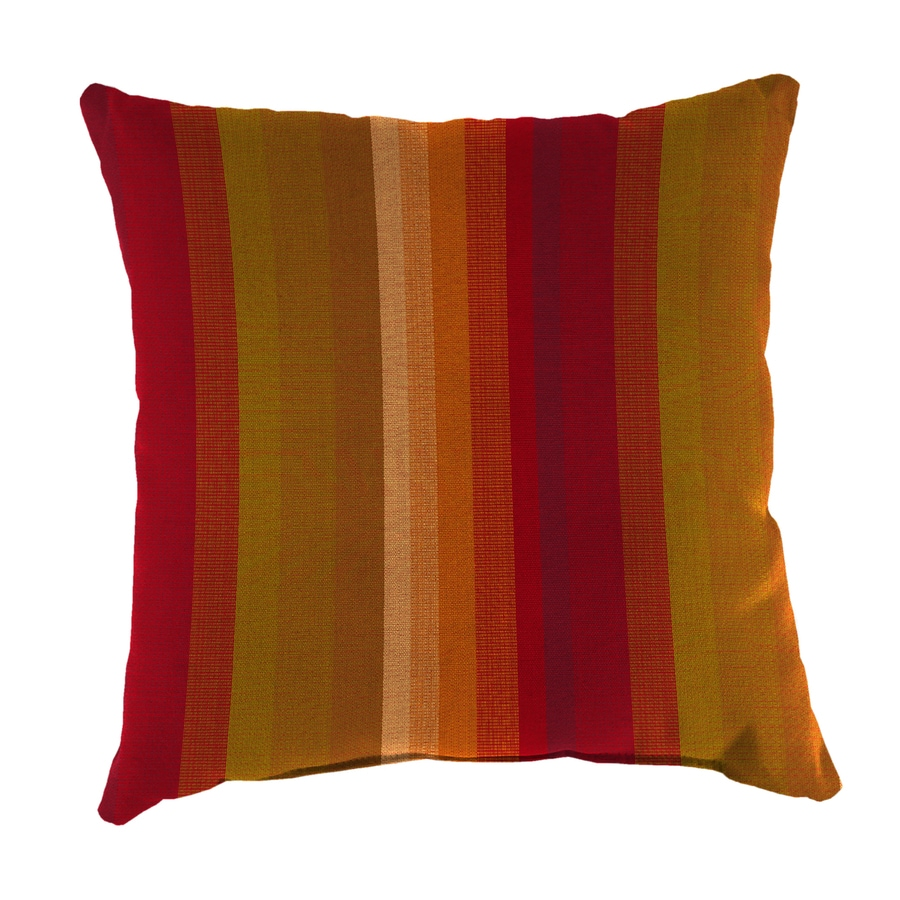 Shop Sunbrella 2-Pack Astoria Sunset and Striped Square ...