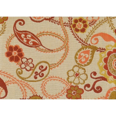 Sunbrella 54-in W Floral Outdoor Fabric (By-The-Yard) at ...