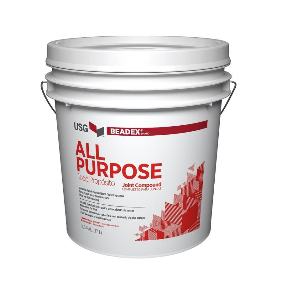 BEADEX Brand 4.5-Gallon Premixed Heavyweight Drywall Joint Compound