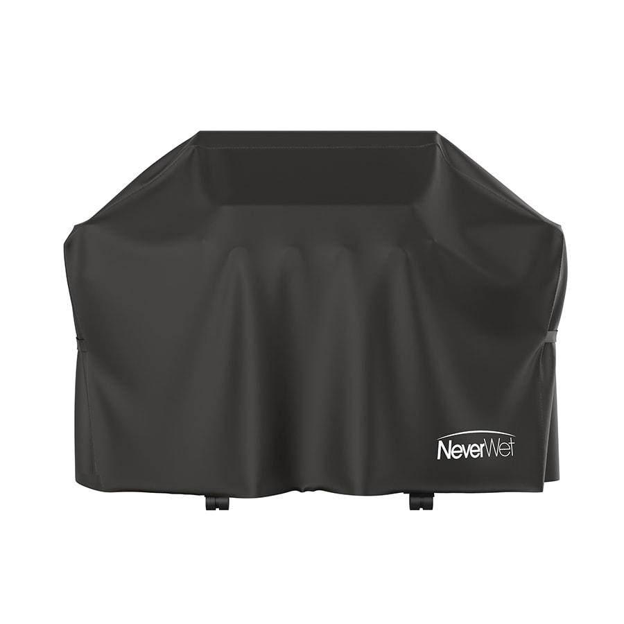 Rust-Oleum NeverWet 65-in x 42-in Charcoal Polypropylene Gas Grill Cover