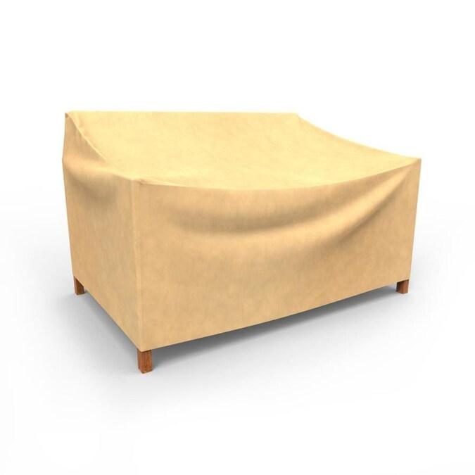 Budge All Seasons Tan Polypropylene Sofa Cover In The