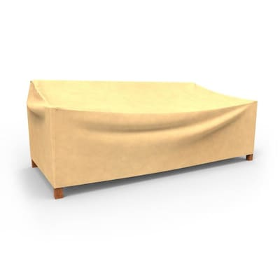 Astonishing All Seasons Tan Polypropylene Sofa Cover Short Links Chair Design For Home Short Linksinfo