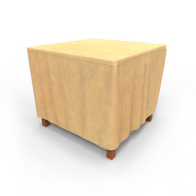 Budge All Seasons Tan Polypropylene Dining Table Square