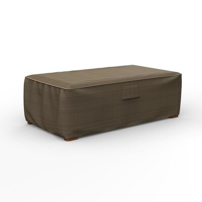 Budge Neverwet Hillside Black Tan Polyester Patio Furniture Cover In The Patio Furniture Covers Department At Lowes Com