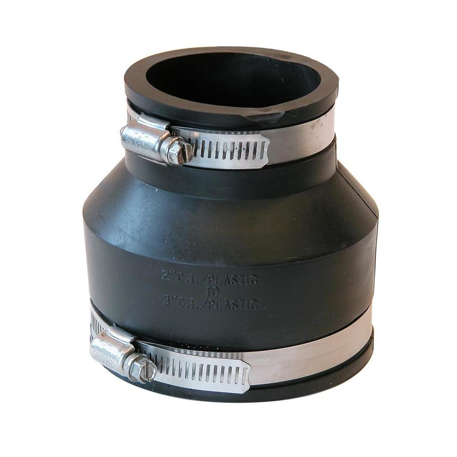 Shop fernco in dia flexible pvc coupling