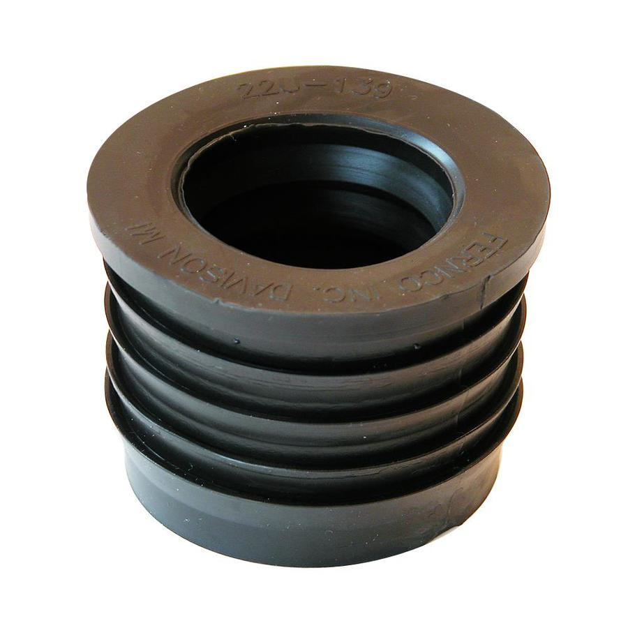 Fernco 2-in x 1-1/2-in dia Flexible PVC Donut Fittings