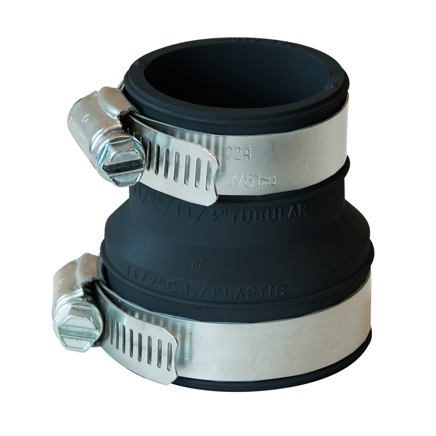 Fernco 1-1/2-in dia Flexible PVC Connector Trap Fittings