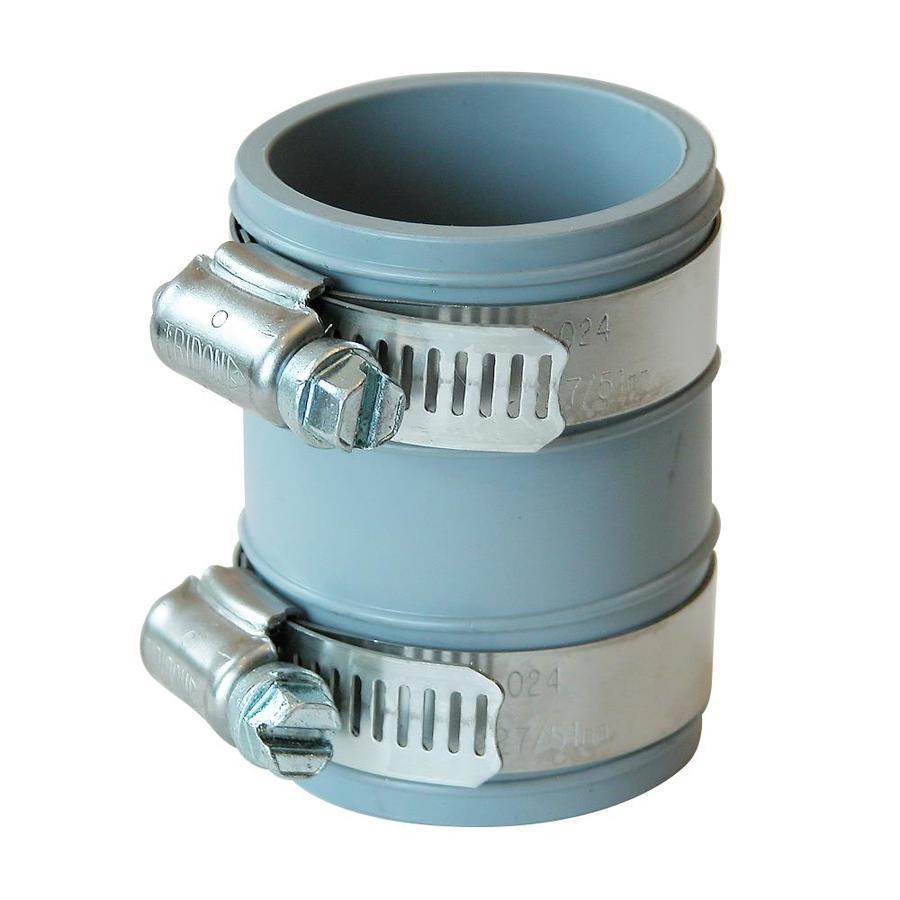 Fernco 1-1/2-in dia Flexible PVC Coupling Fittings