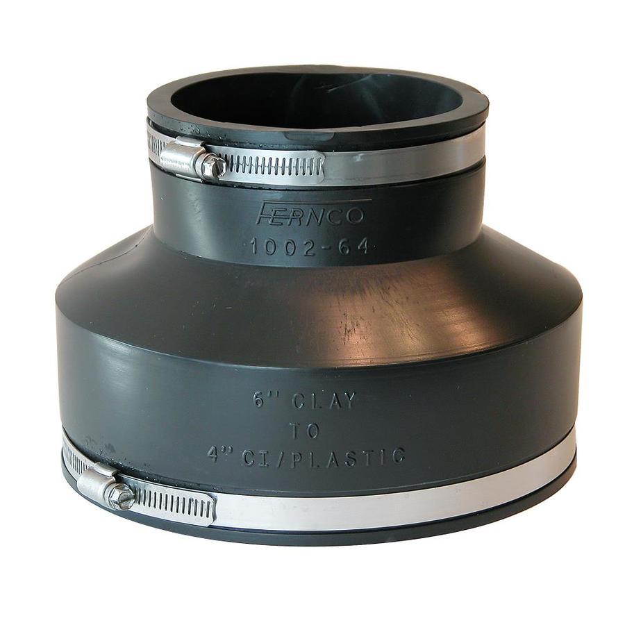 Shop fernco in dia flexible pvc coupling fittings at