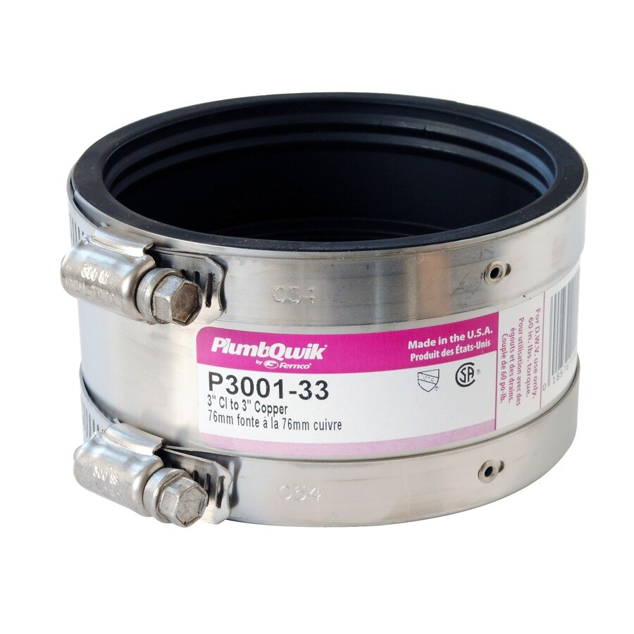 PROFLEX 3-in dia Flexible PVC Coupling Fittings