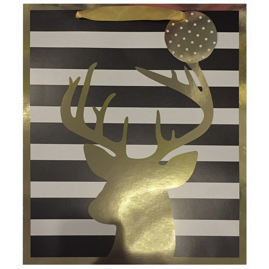 allen + roth Christmas Paper Gift Bag