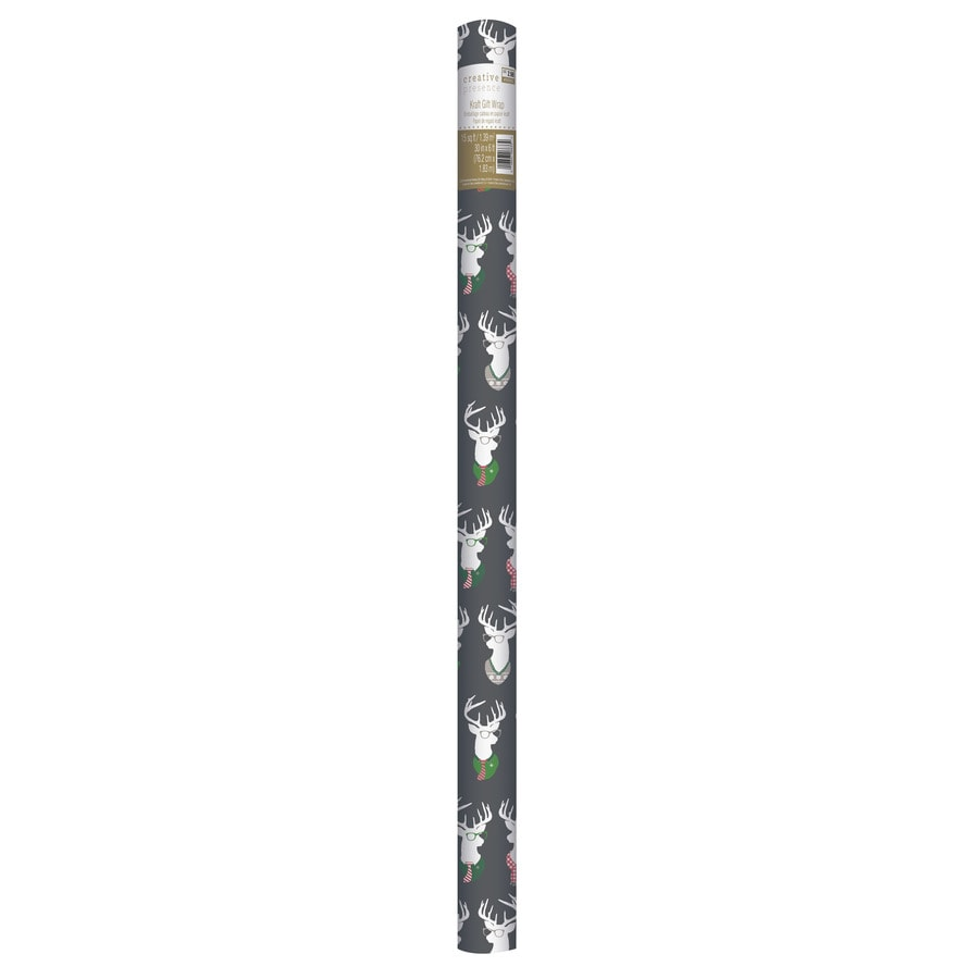 Creative Presence 2-ft x 6-ft Christmas Wrapping Paper