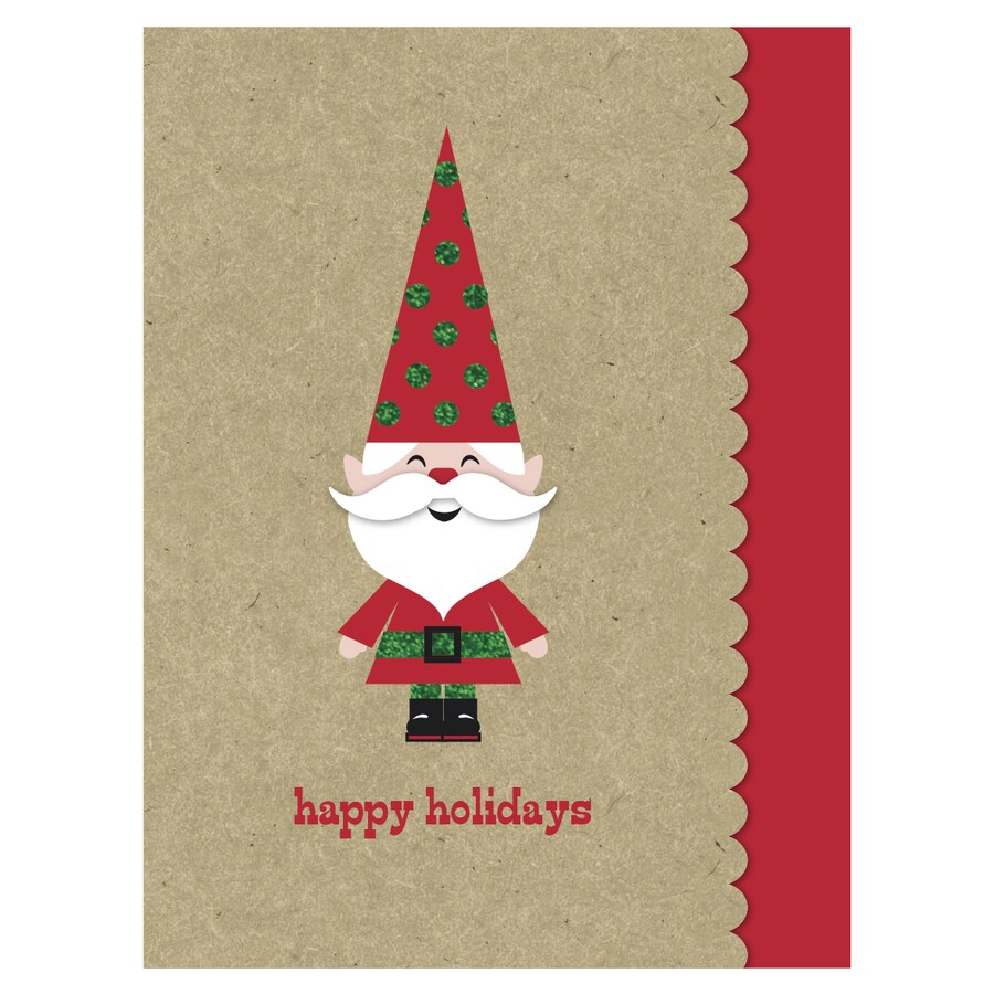 Creative Presence 18-Pack Christmas Greeting Card with Envelope