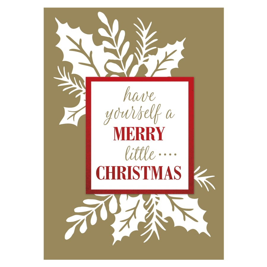 Creative Presence 12-Pack Christmas Greeting Card with Envelope