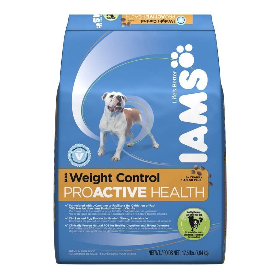 Iams 17.5-lbs ProActive Health Weight Control All-Natural Adult Dog Food