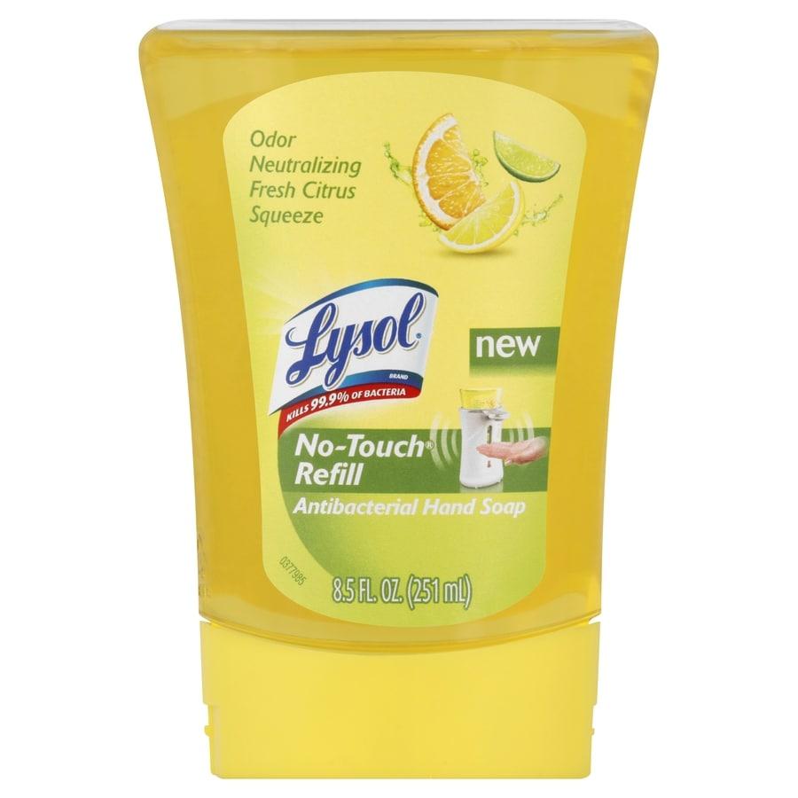 LYSOL No-Touch 8.5 oz Antibacterial Foaming Citrus Hand Soap
