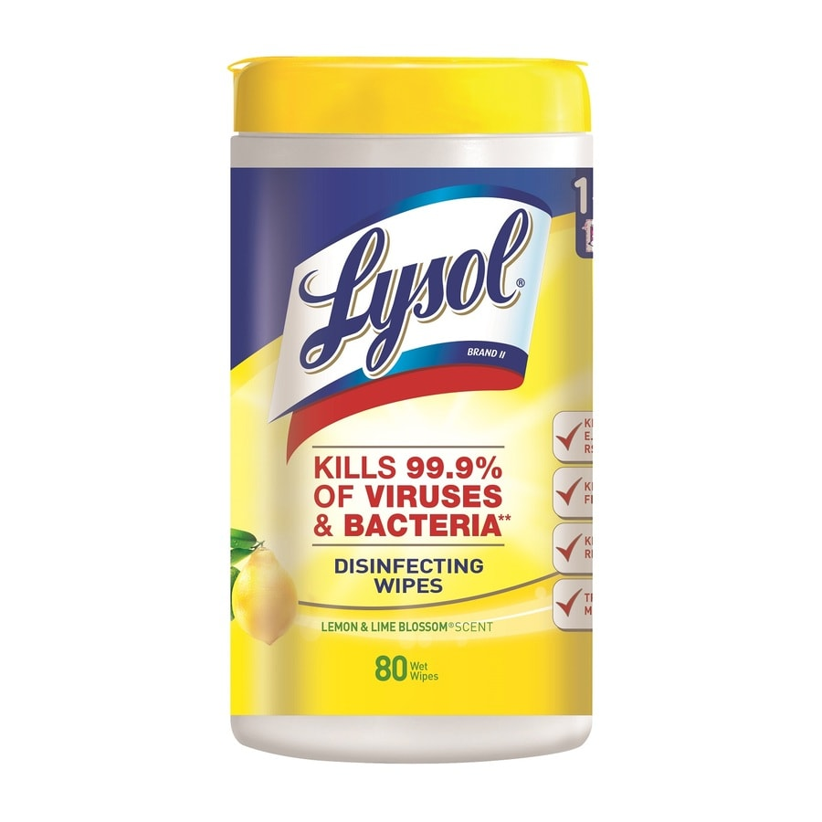 LYSOL 80-Count Lemon/Lime All-Purpose Cleaner