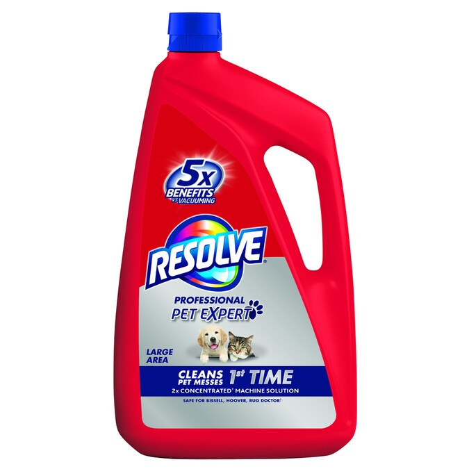 Resolve 96 Oz Carpet Cleaning Solution In The