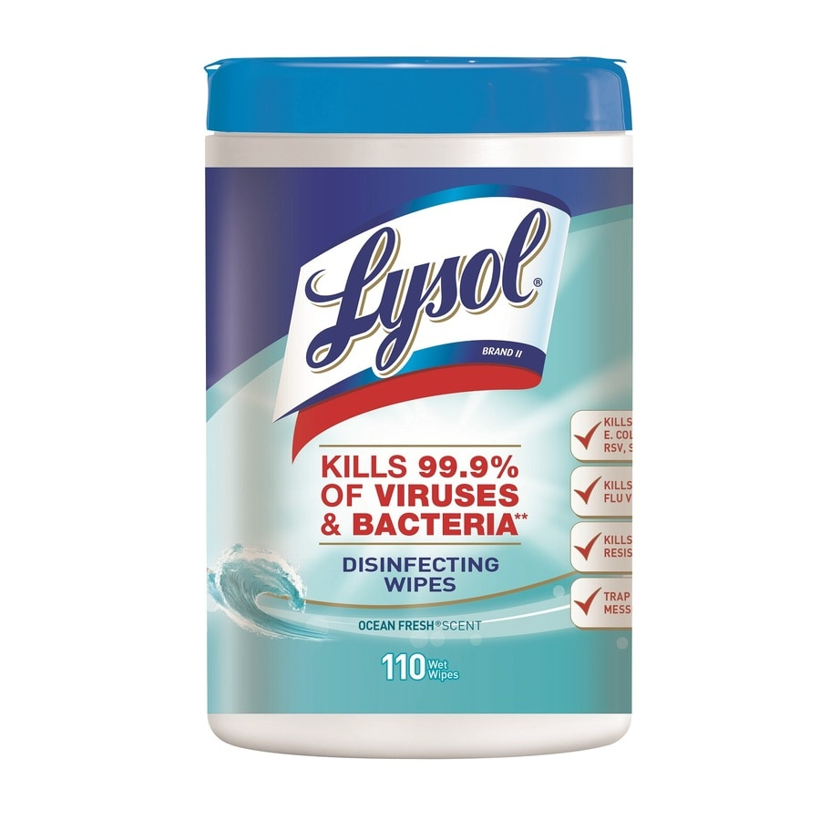LYSOL 110-Pack Cotton Cloths