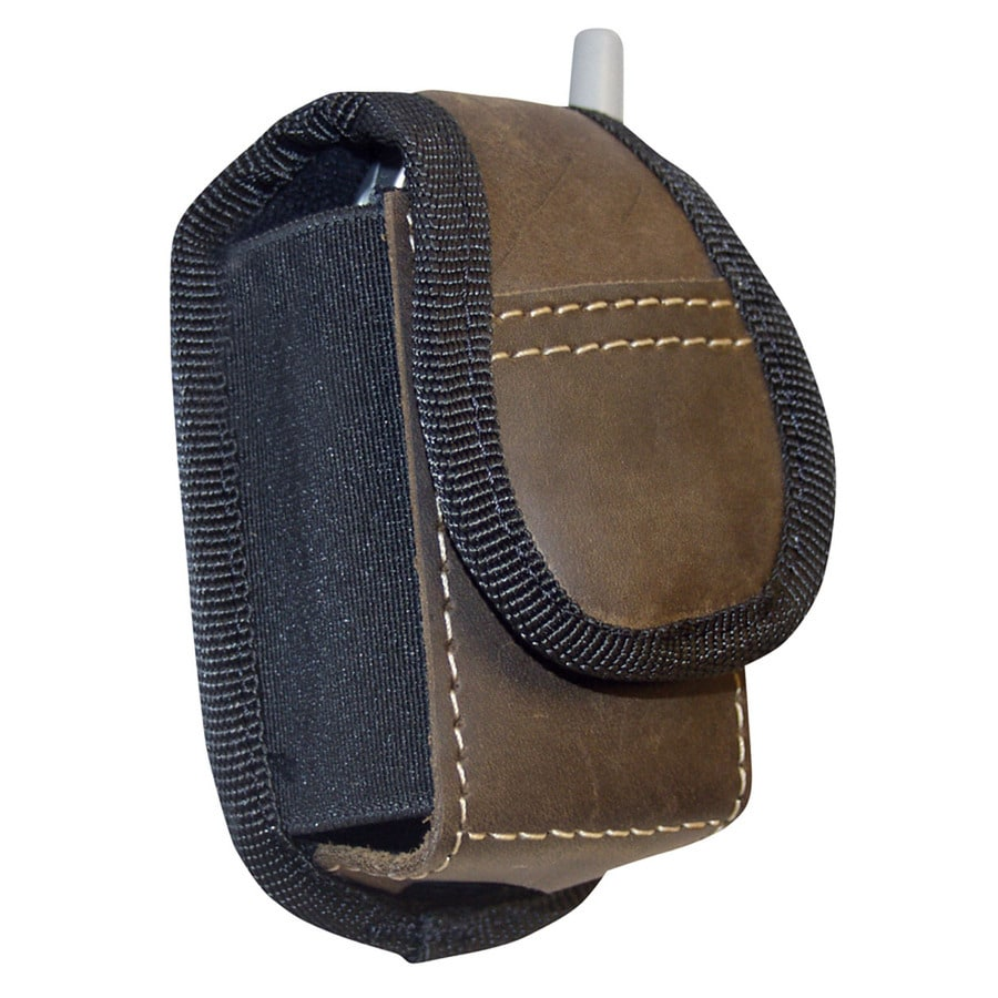 Texas Hold-Ums Brown Leather Magnetic Cell Phone Case