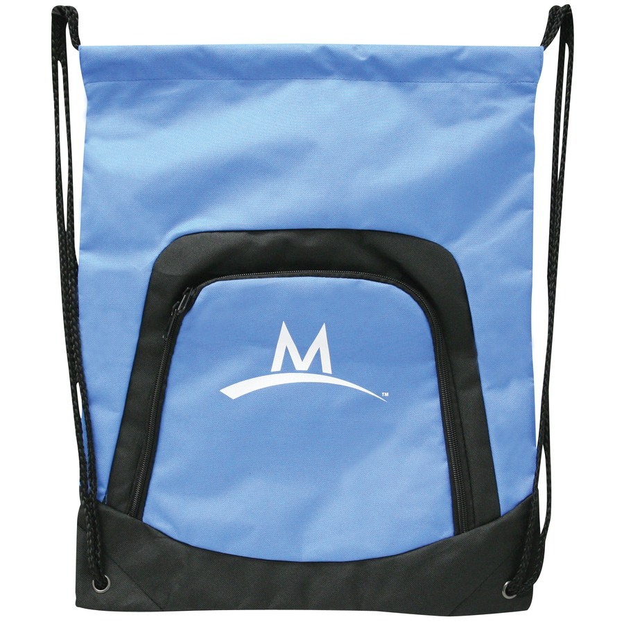 Mission Unisex Blue Denier Backpack