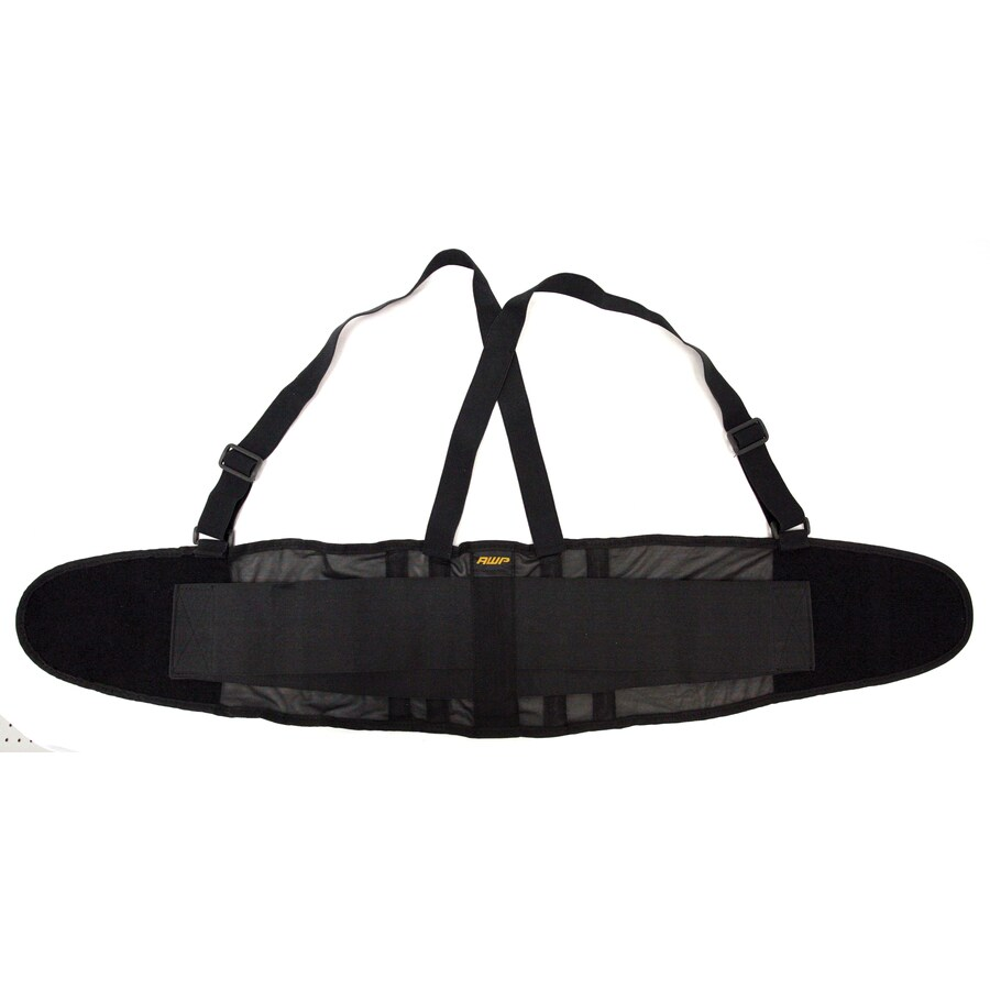 AWP Extra Large Polyester Hook-n-loop Back Support