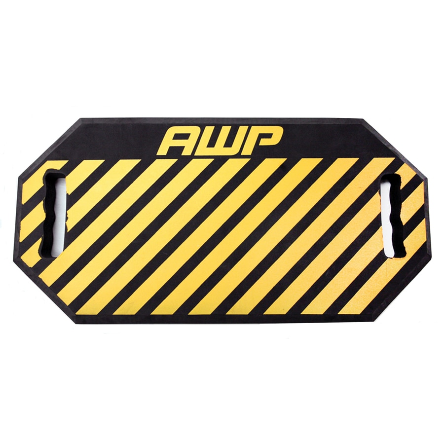 Exceptionnel AWP HP Yellow 23 In X 11.5 In Foam Kneeling Pad