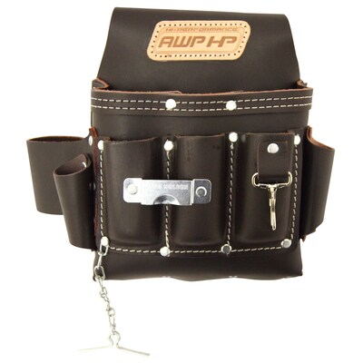 113 Cu In Leather Tool Pouch
