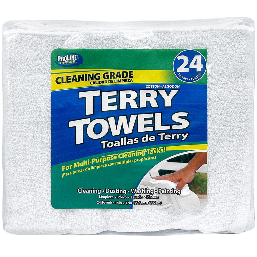 ProLine 24-Pack Cotton Towels