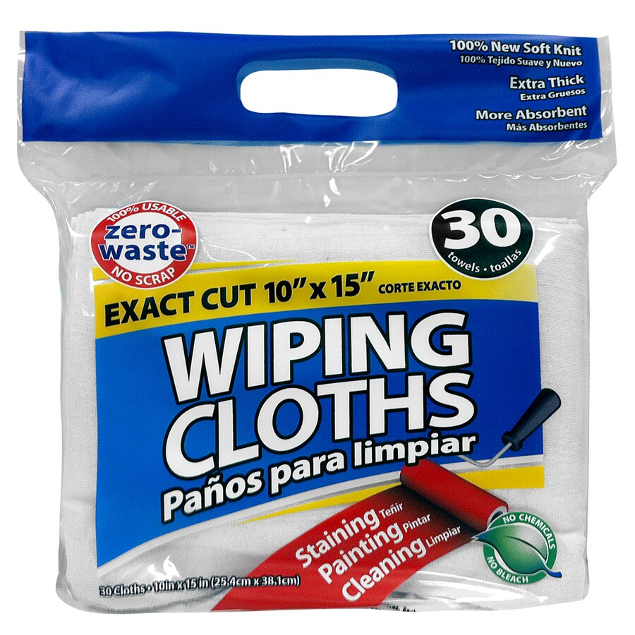 ProLine 30-Pack Cotton Cloths