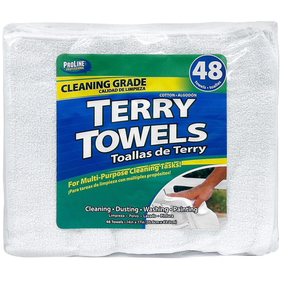 ProLine 48-Pack Cotton Towels