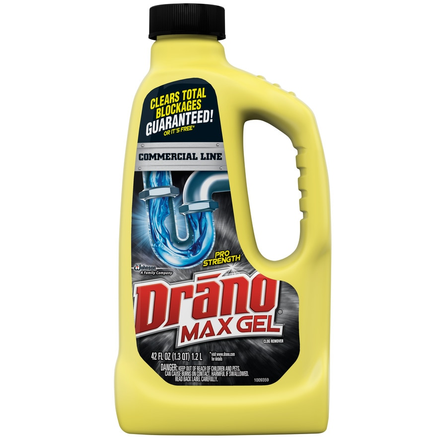 Shop Drano 42 Fl Oz Drain Cleaner At Lowes Com
