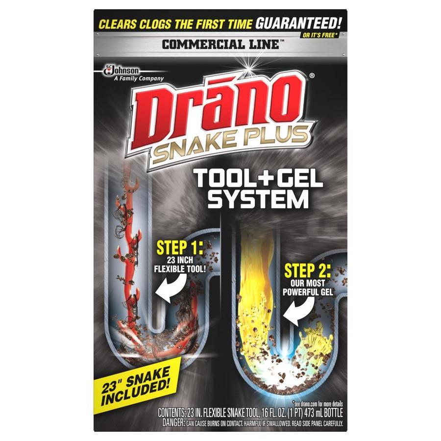 Drano 16-oz Snake Plus Diy