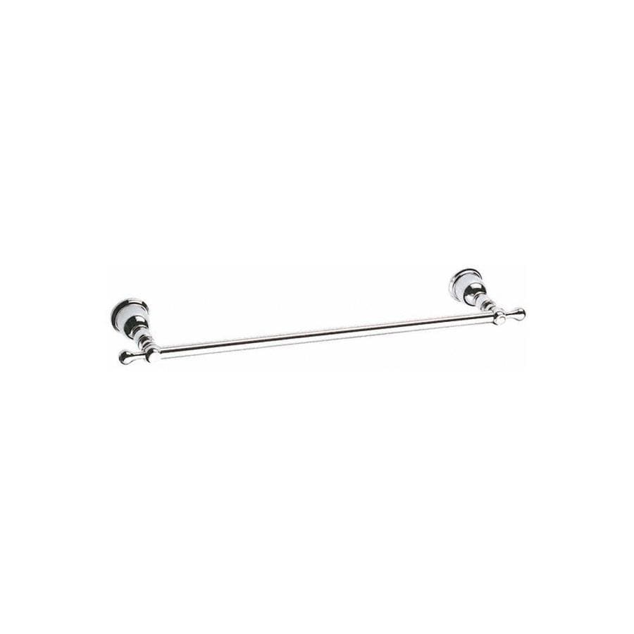 Danze Opulence Chrome Single Towel Bar (Common: 24-in; Actual: 27.25-in)