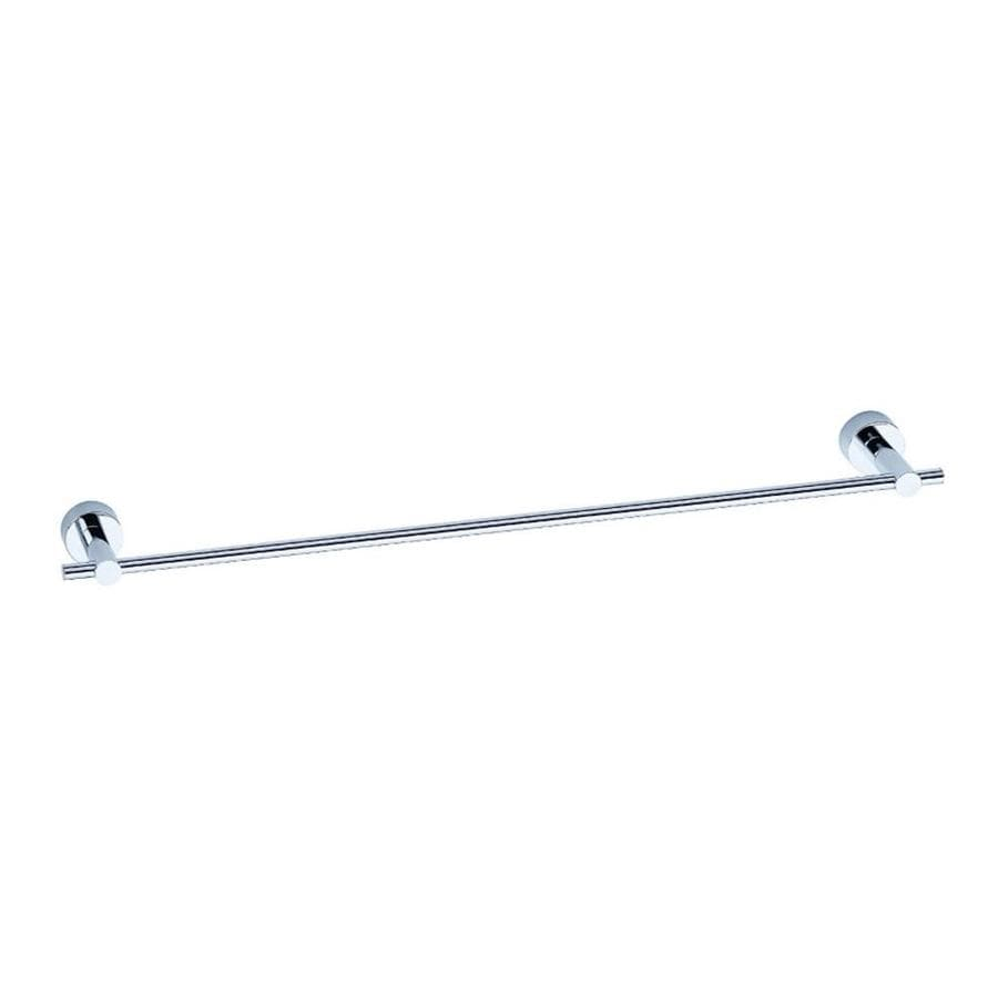 Danze Parma Chrome Single Towel Bar (Common: 24-in; Actual: 26.375-in)