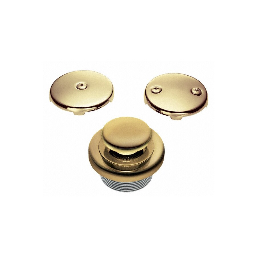 Danze Polished Brass Lift And Turn Pipe