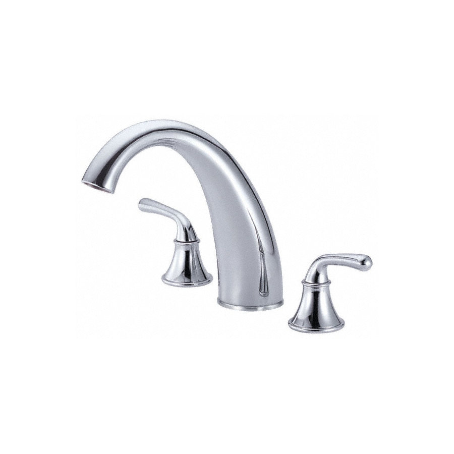 Danze Bannockburn Chrome 2-Handle Adjustable Deck Mount Tub Faucet