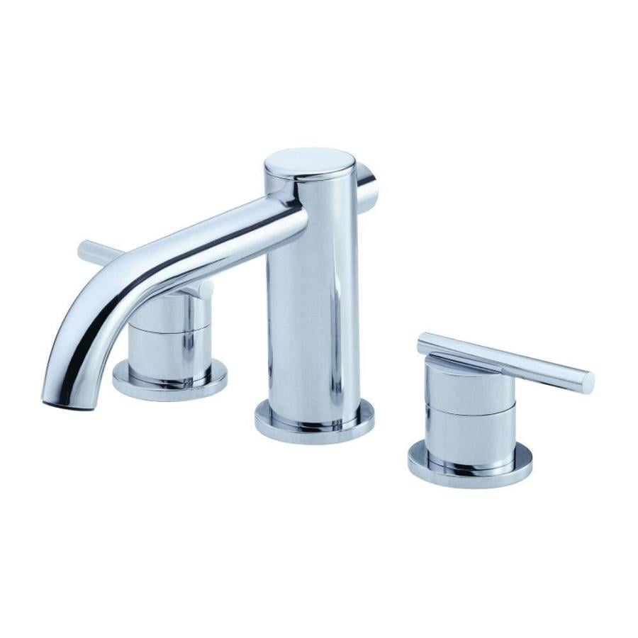 Danze Parma Brushed Nickel 2-Handle Adjustable Deck Mount Bathtub Faucet