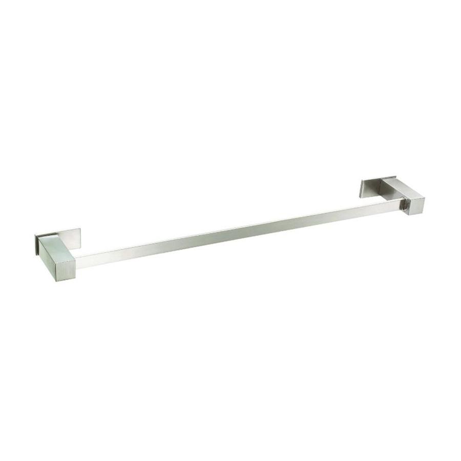 Danze Sirius Brushed Nickel Single Towel Bar (Common: 24-in; Actual: 25.375-in)