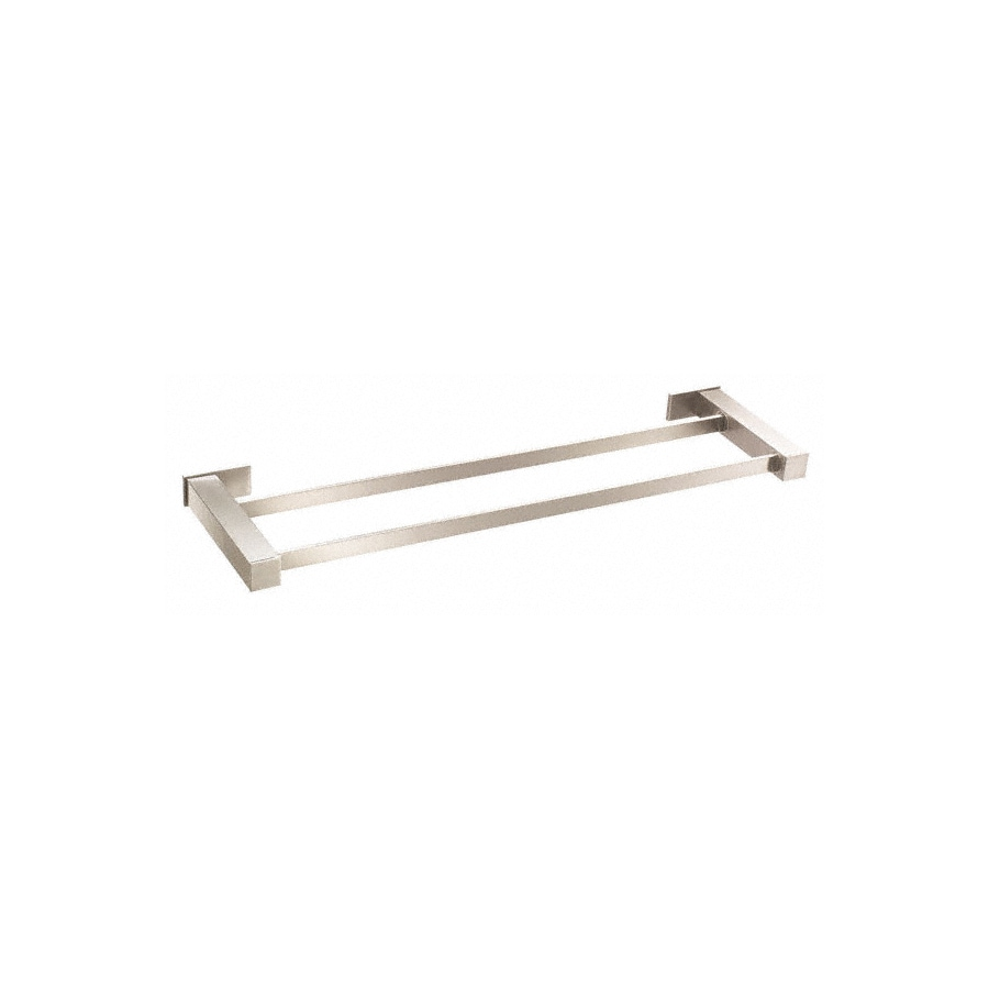 Danze Sirius Brushed Nickel Double Towel Bar (Common: 24-in; Actual: 25.375-in)
