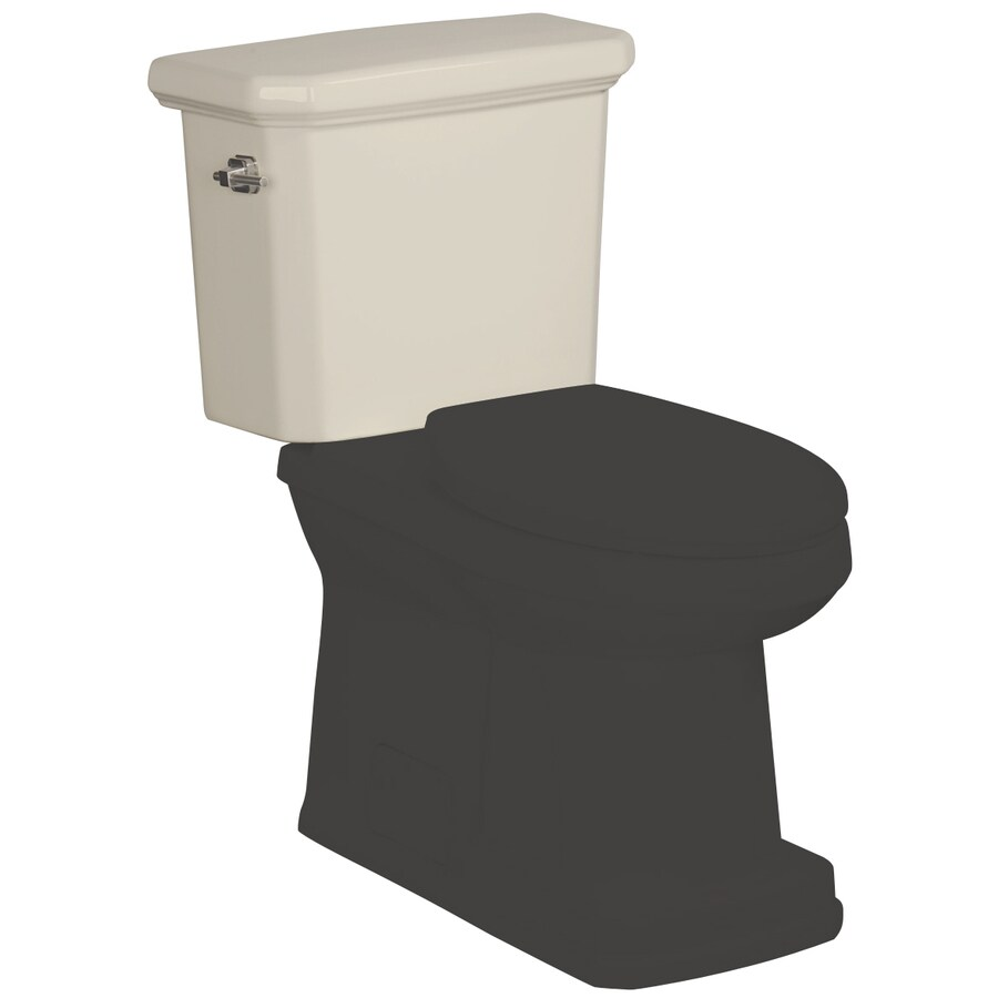 Danze Cirtangular Biscuit 1.6-GPF (6.06-LPF) 12-in Rough-In Single-Flush Toilet Tank
