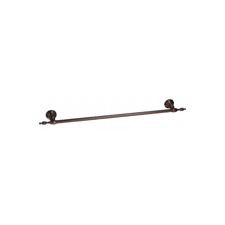 Danze Sheridan Oil-Rubbed Bronze Single Towel Bar (Common: 24-in; Actual: 29.875-in)