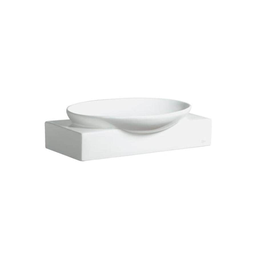 Danze Ziga Zaga White Vessel Oval Bathroom Sink