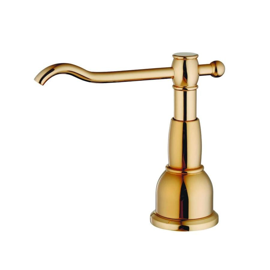Danze Opulence Polished Brass Soap and Lotion Dispenser