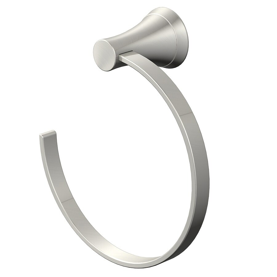 Jacuzzi Lyndsay Brushed Nickel Wall Mount Towel Ring